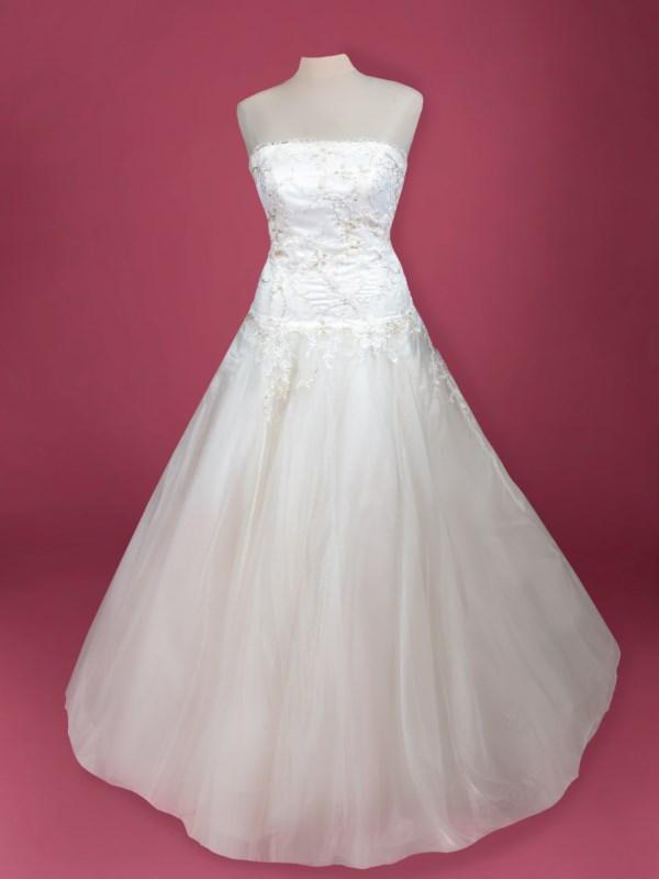 abito da sposa  in tulle